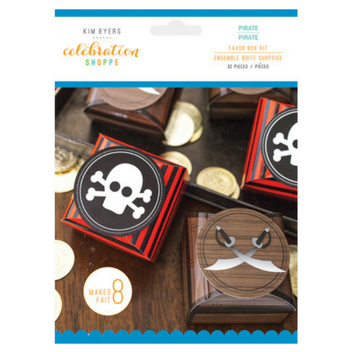 Pirate Favor Boxes