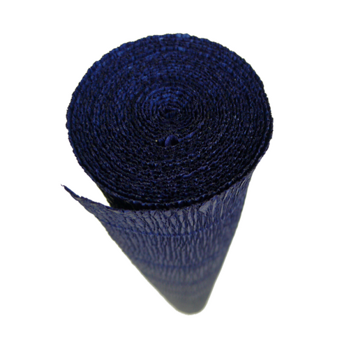 Oxford Blue Crepe Paper Table Runner