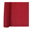 Scarlet Red Crepe Paper Table Runner