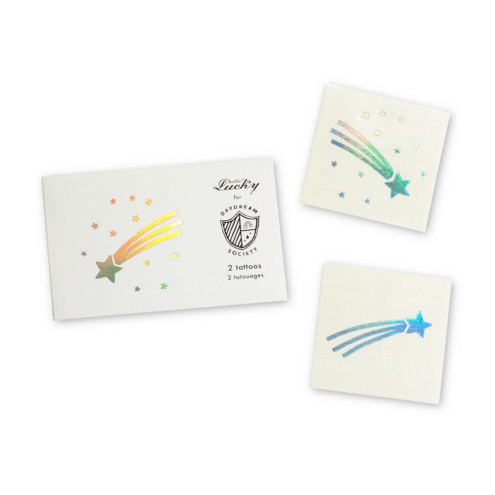 Cosmic Temporary Tattoos by Daydream Society