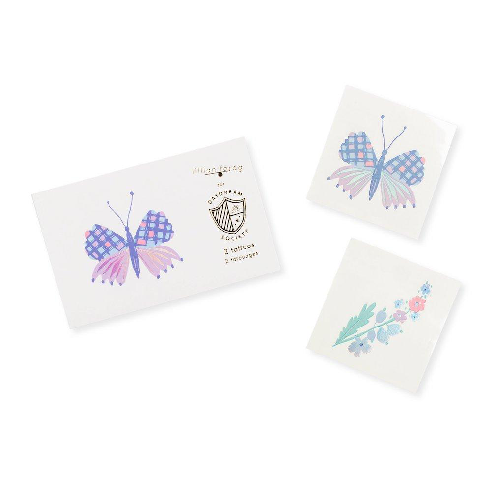 flutter temporary tattoos from daydream society