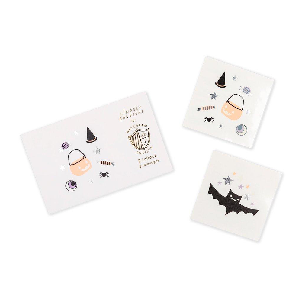 hocus pocus temporary tattoos from daydream society