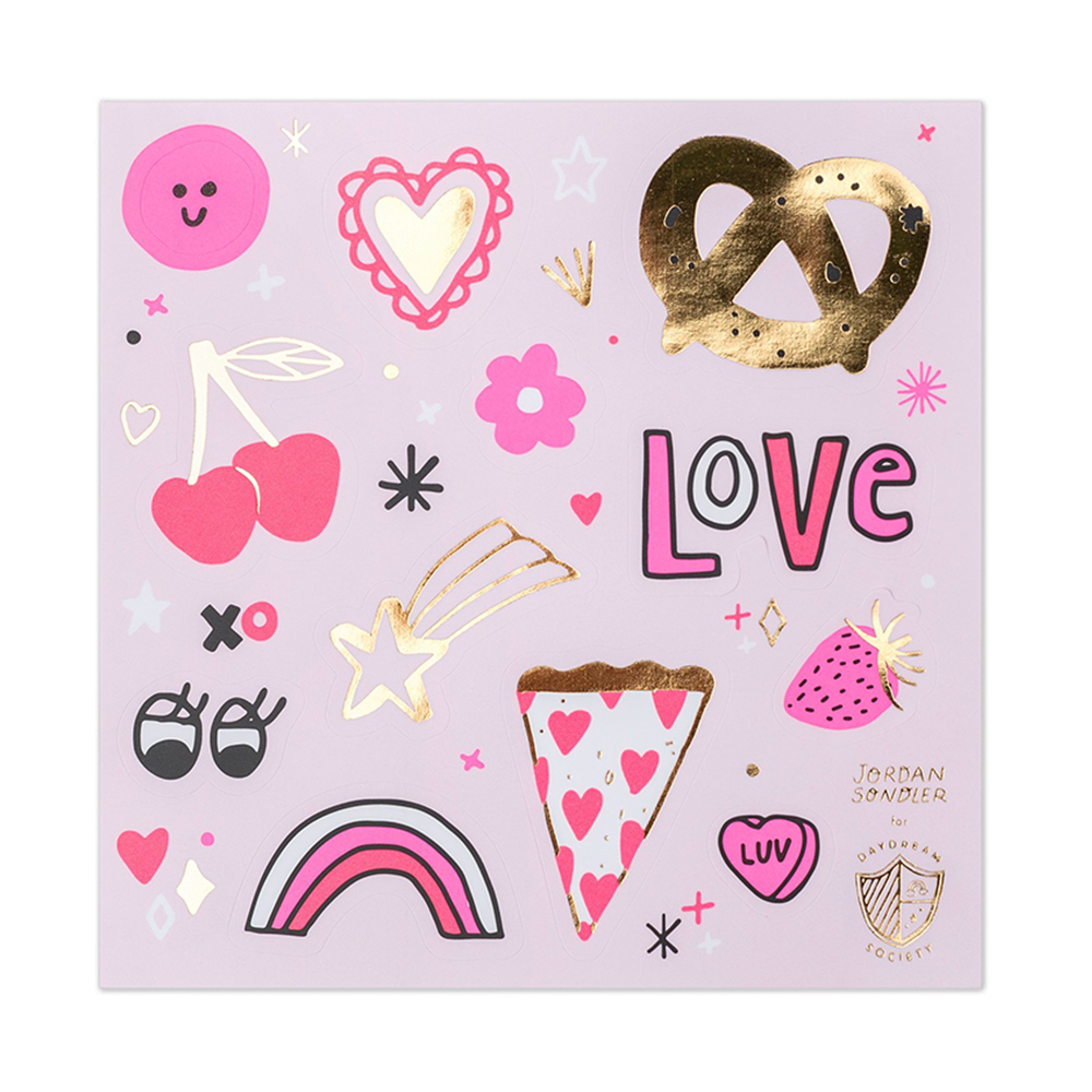 love notes sticker set from Daydream Society