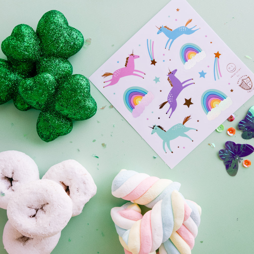 Magical Unicorn Sticker Set Styled from Daydream Society