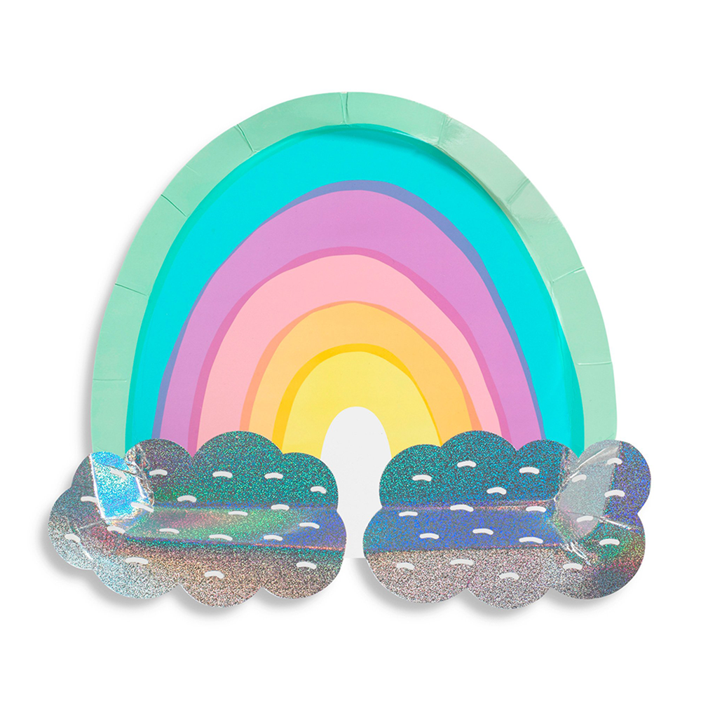 Over the Rainbow Large Plates from Jollity & Co