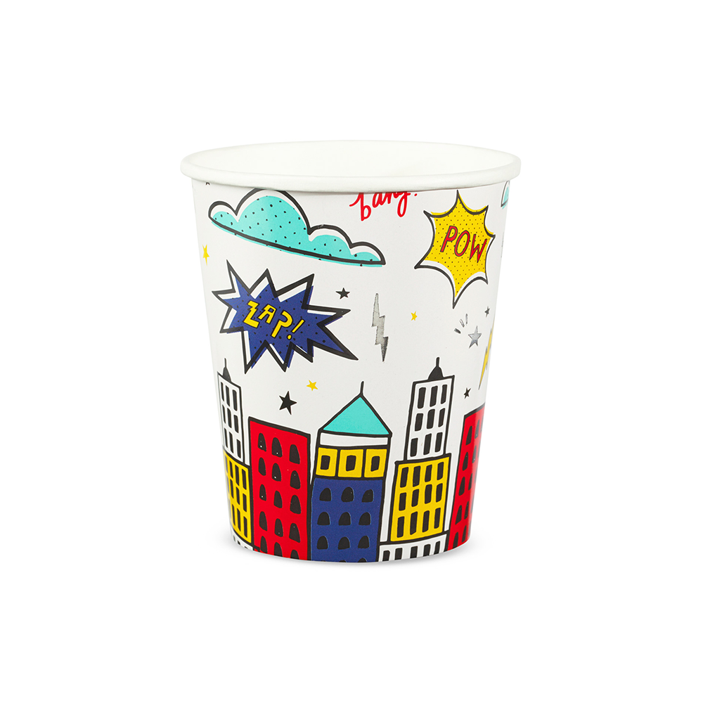 Superhero 9 oz Cups from Daydream Society