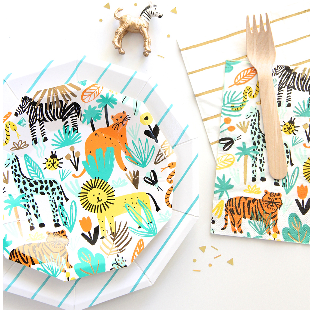 Into the Wild Large Napkins from Daydream Society