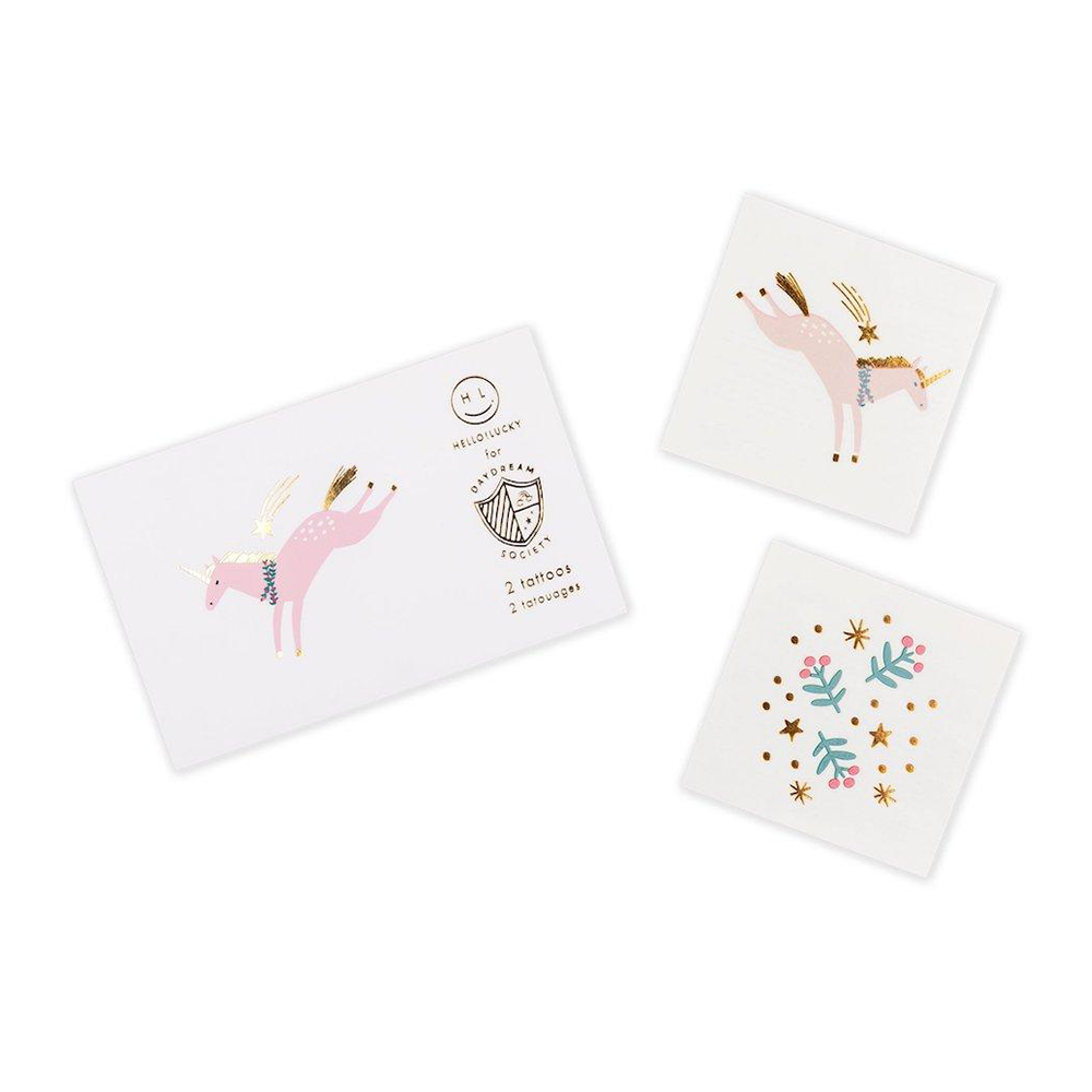 Magical Christmas Temporary Tattoos from Daydream Society