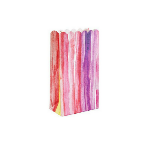 Watercolor Painted Treat Bags