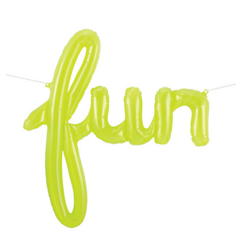 Script 'Fun' Balloon