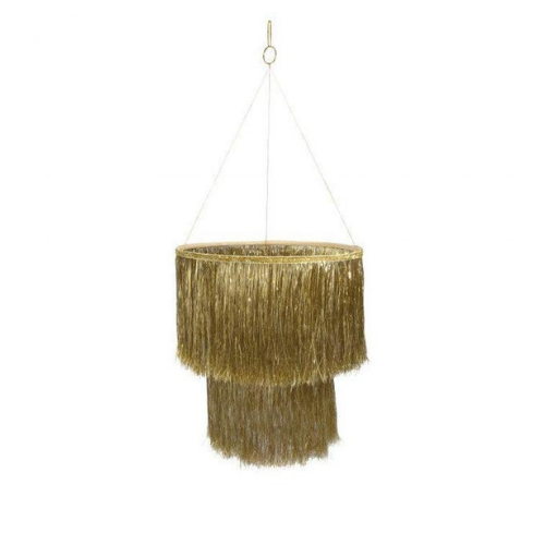 Tinsel Chandelier Gold, Jollity & Co