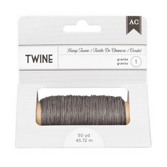 Bakers or Hemp Twine - Gray