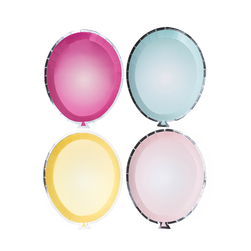 Balloon Shaped Party Plates from Jollity & Co
