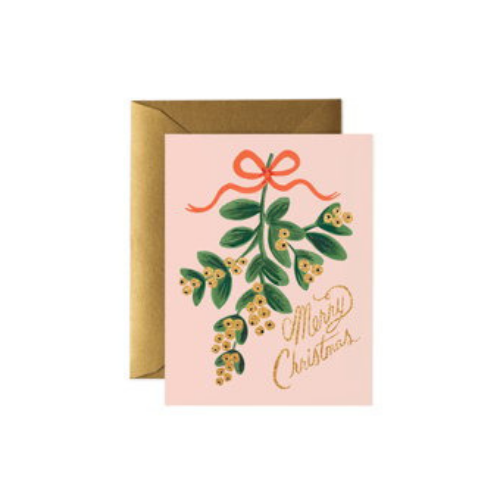 Mistletoe Greeting Card Box Set, Jollity & Co