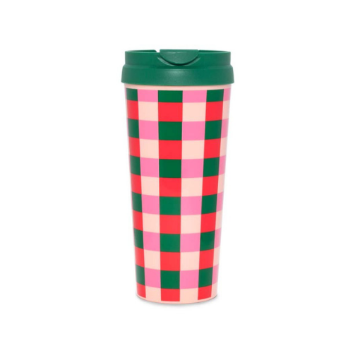 Buffalo Plaid Thermal Mug