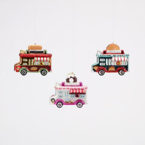 Food Truck Ornaments, Jollity & Co