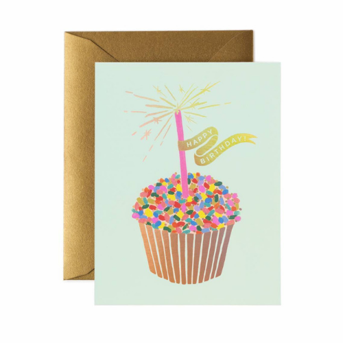 Happy Birthday Cupcake Card, Jollity & Co