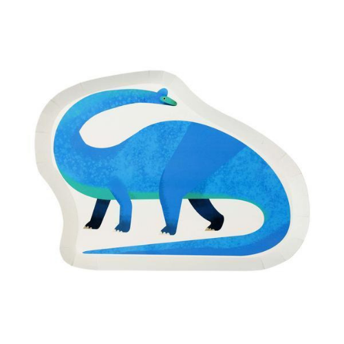 Jollity & Co, Die-Cut Dinosaur Dinner Plates