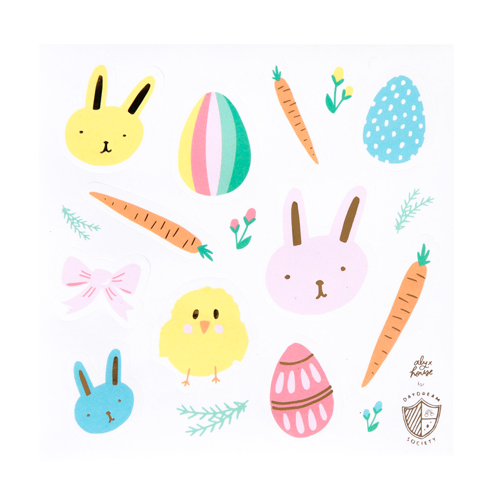 Easter Fun Stickers from Daydream Society for Jollity & Co