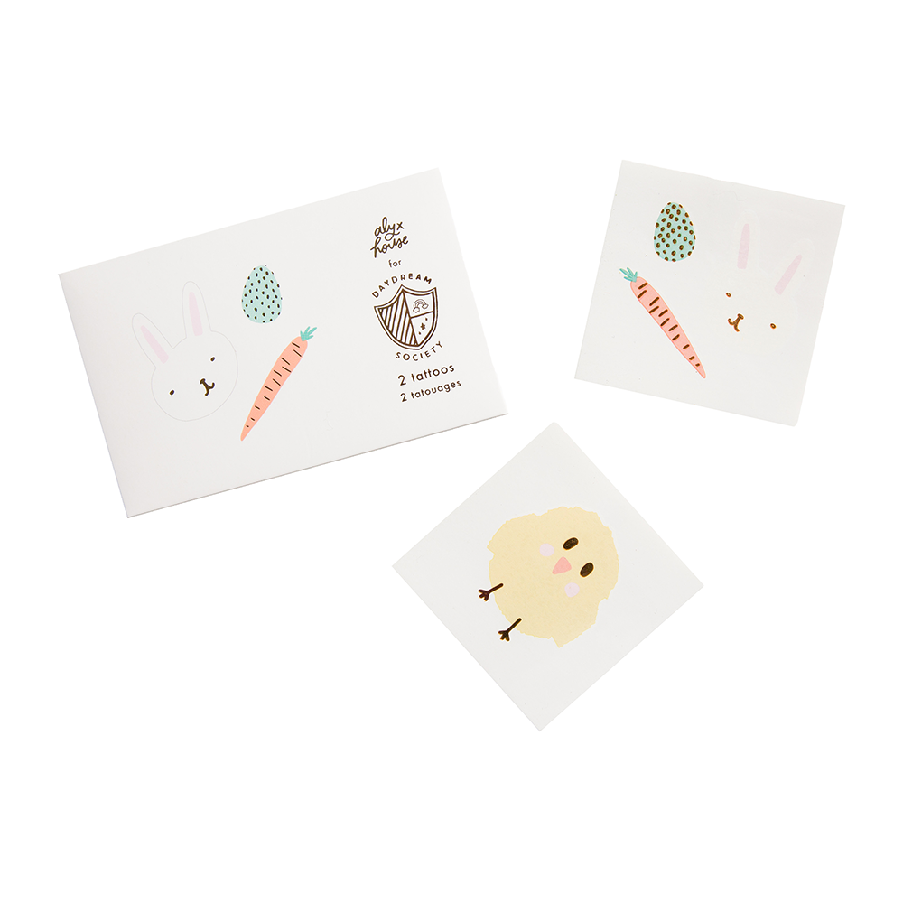 Easter Fun Temporary Tattoos by Daydream Society