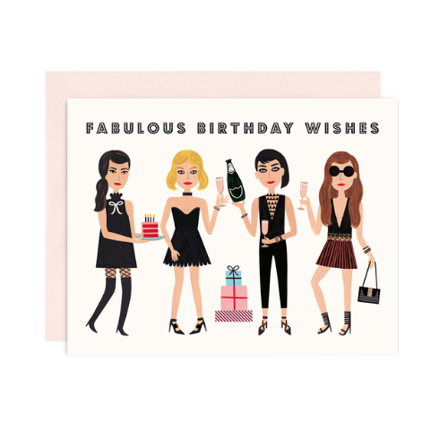 """Fabulous Birthday Wishes"" Card, Jollity & Co"