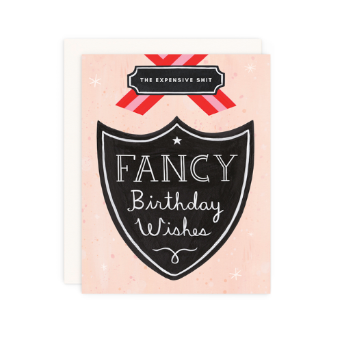 """Fancy Birthday Wishes"" Card, Jollity & Co"