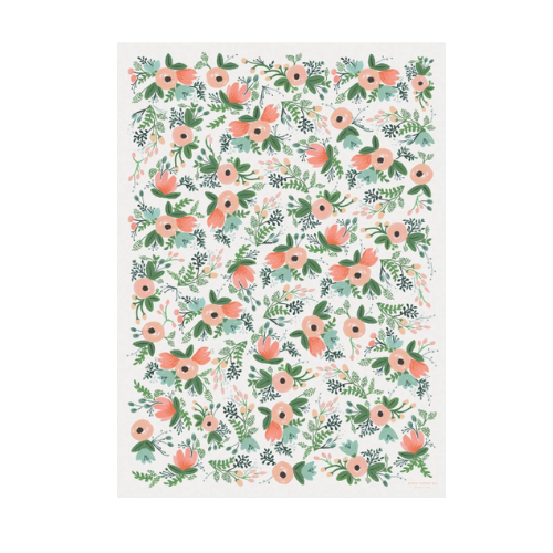 Floral Gift Wrap Roll - 1