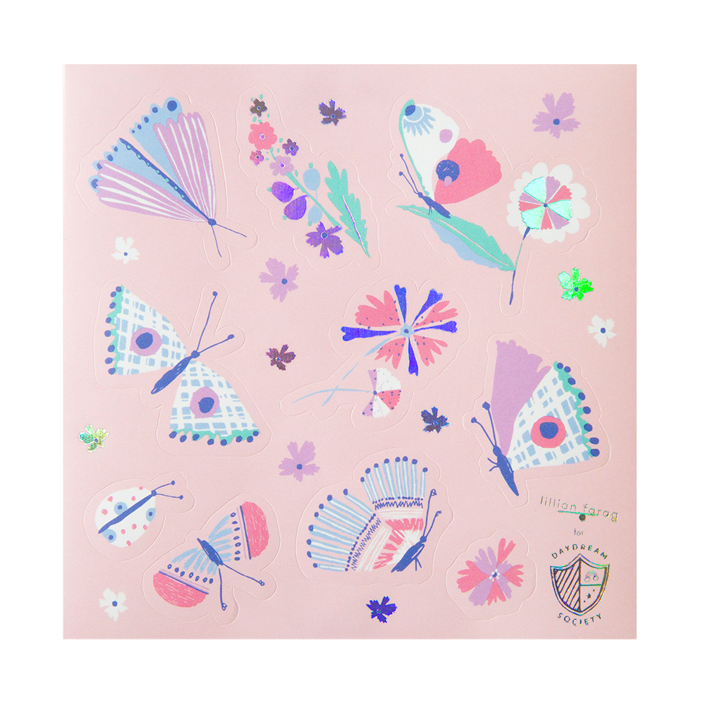 Flutter Sticker Set from Daydream Society