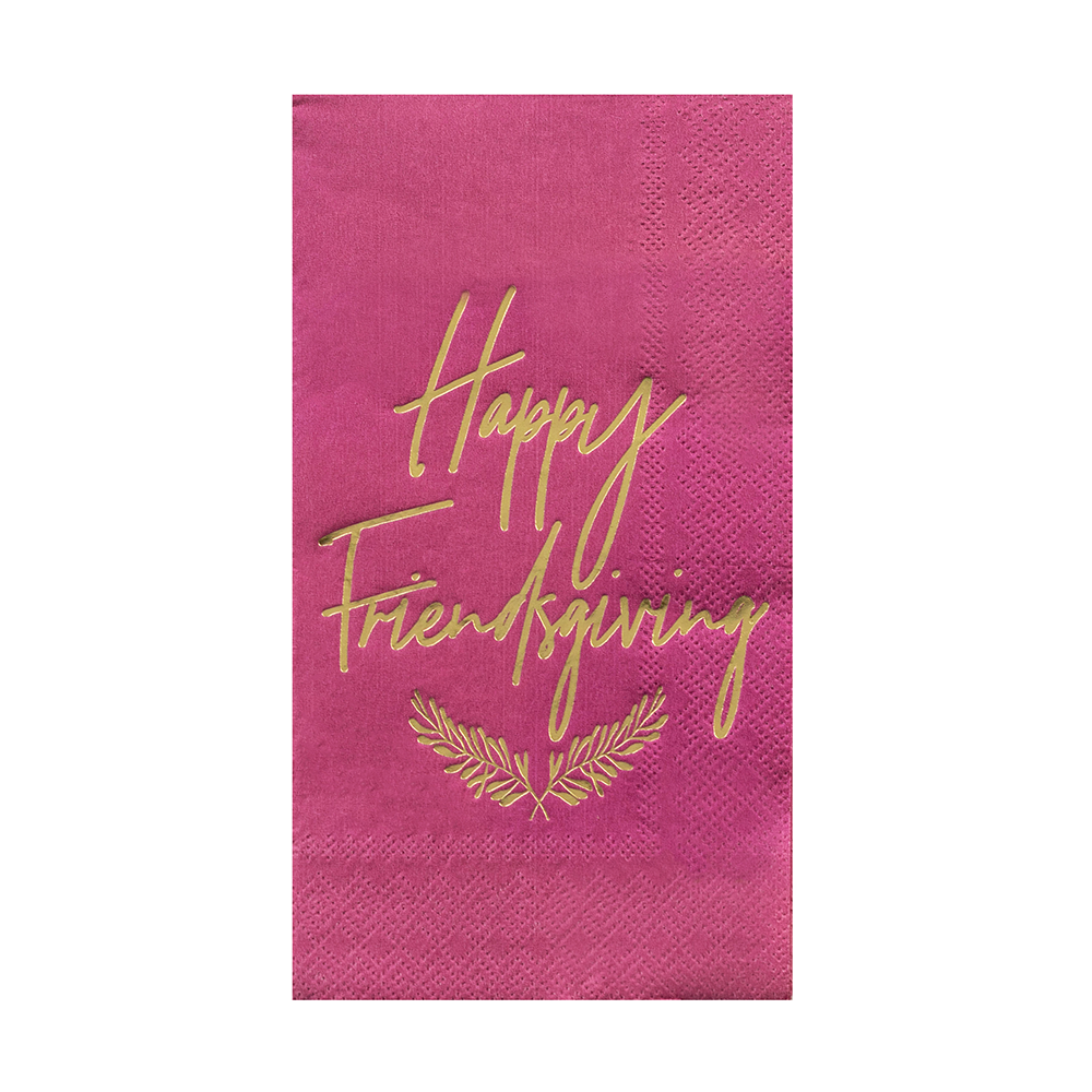 "Gather ""Happy Friendsgiving"" Guest Napkins from Jollity & Co"