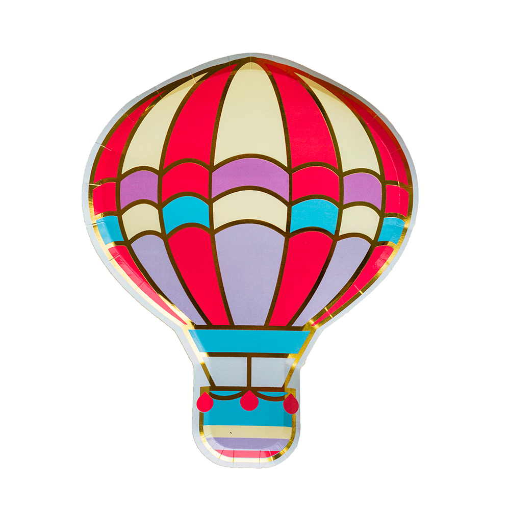 Up, Up & Away Dinner Plates from Jollity & Co