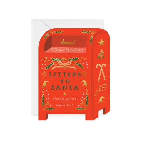 Letters to Santa Greeting Card, Jollity & Co