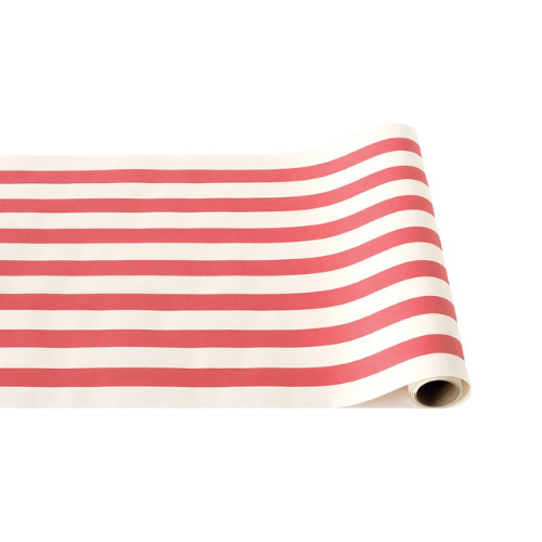Light Red Stripe Table Runner, Jollity & Co