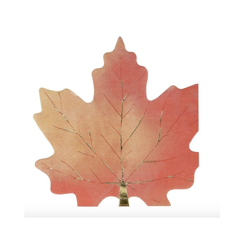 Maple Leaf Lunch Napkins, Jollity & Co