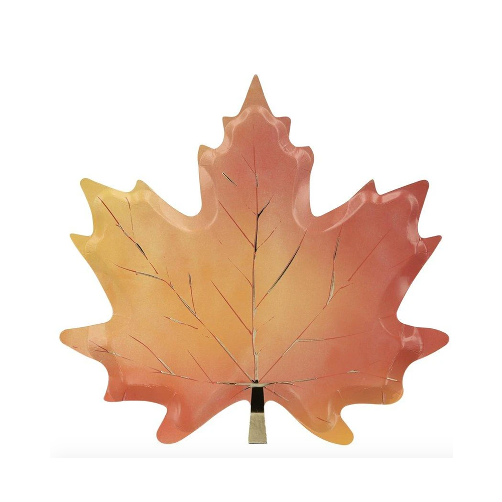 Maple Leaf Paper Plates, Jollity & Co