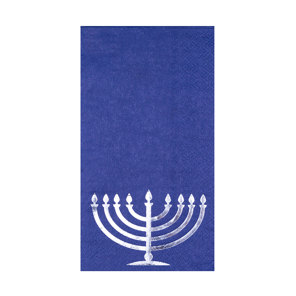 Happy Challah Days Menorah Guest Napkins from Jollity & Co
