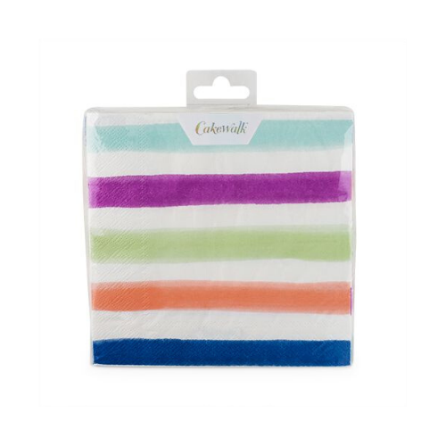 Ombré Striped Dinner Napkins, Jollity & Co