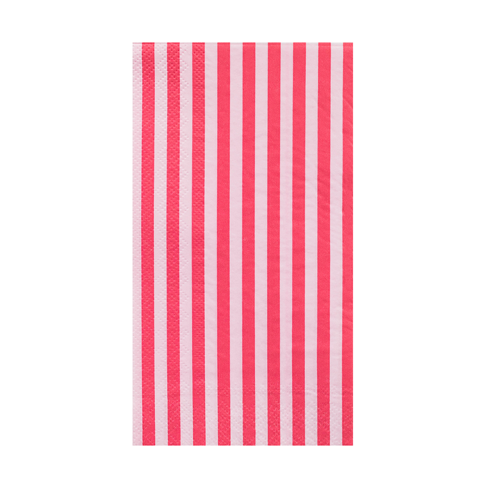 More Party Faves Pink Striped Guest Napkins from Jollity & Co