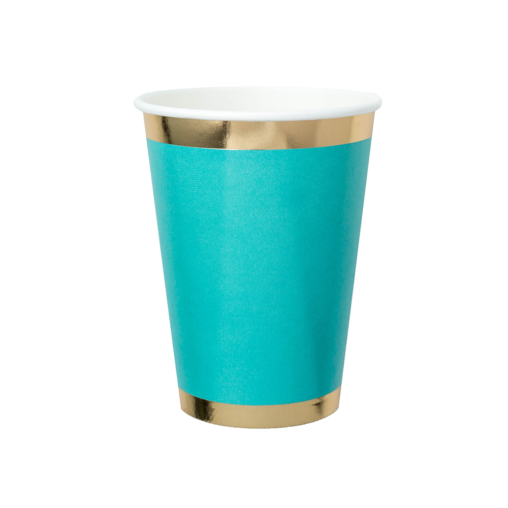 Posh Buoy Bye 12 oz Cups from Jollity & Co