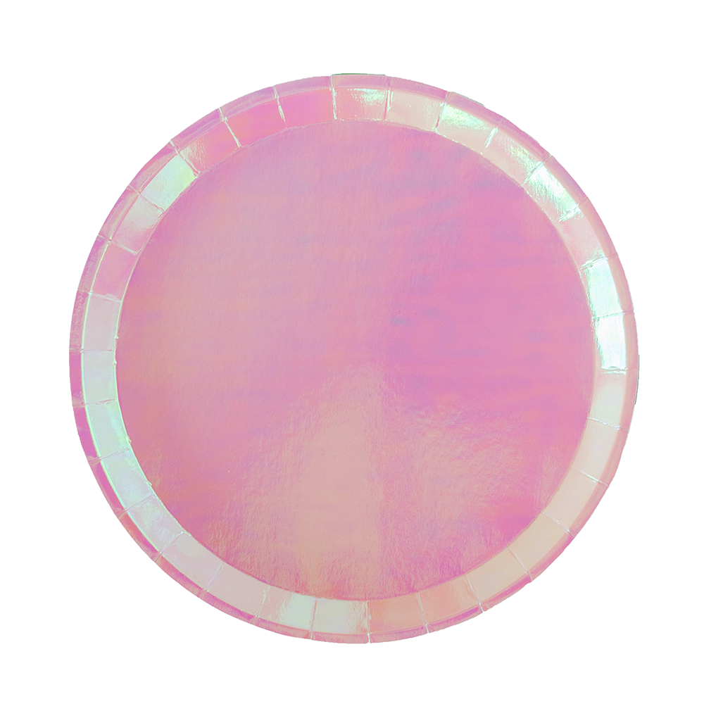 Posh Just Peachy Round Dinner Plates from Jollity & Co