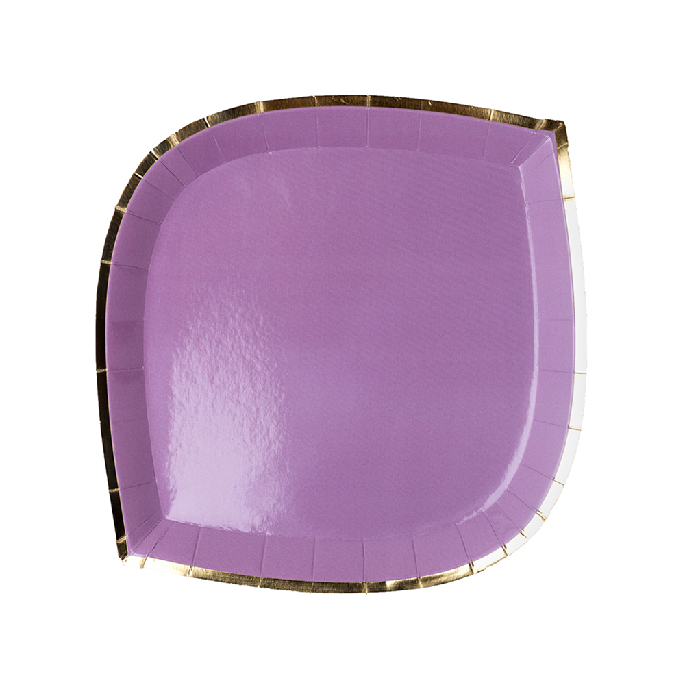 Posh Lilac You Lots Dessert Plates from Jollity & Co
