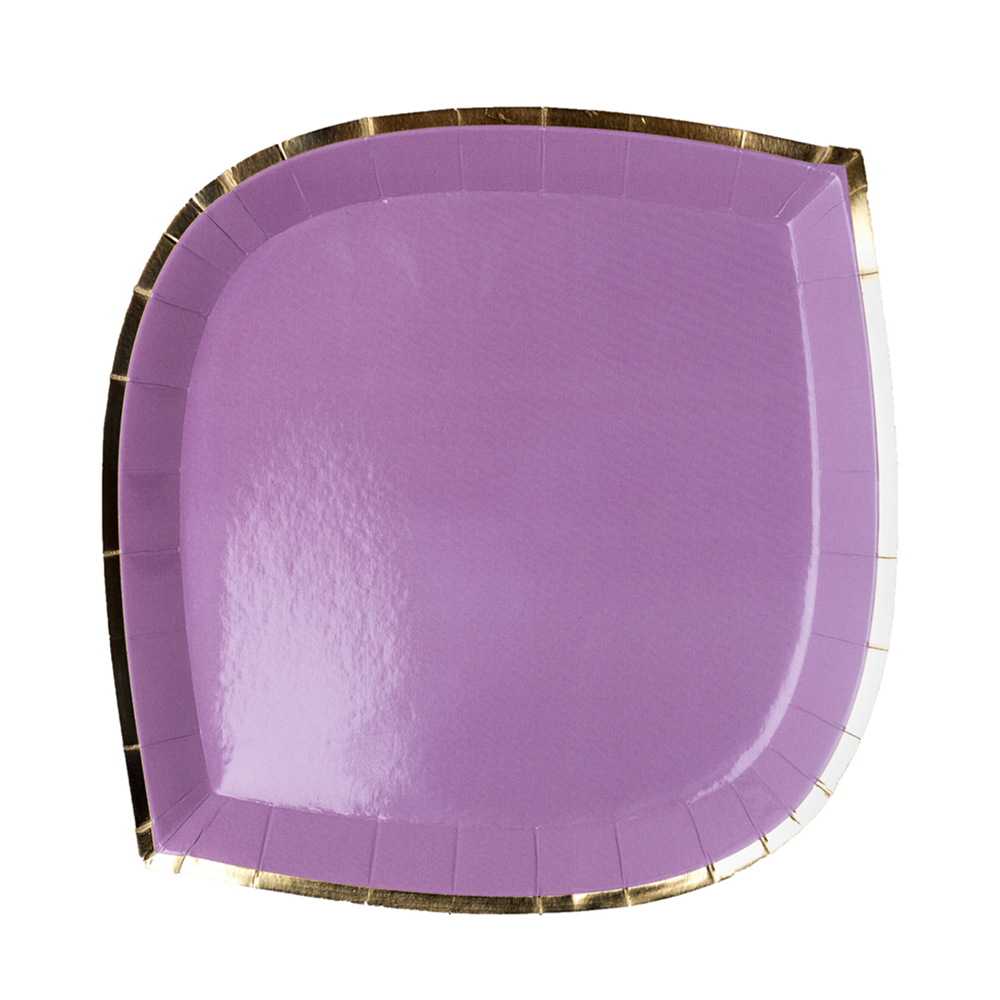 Posh Lilac You Lots Dinner Plates from Jollity & Co