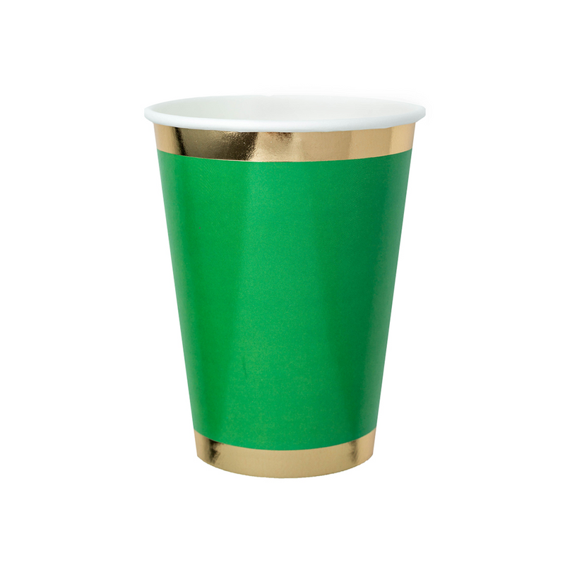 Posh Oh Kale No 12 oz Cups from Jollity & Co