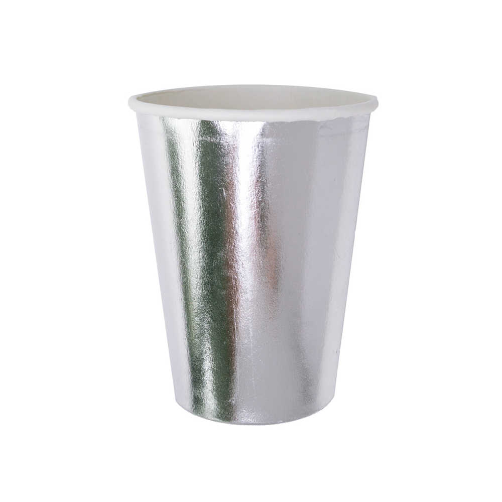 Posh Silver Fox 12 oz Cups from Jollity & Co