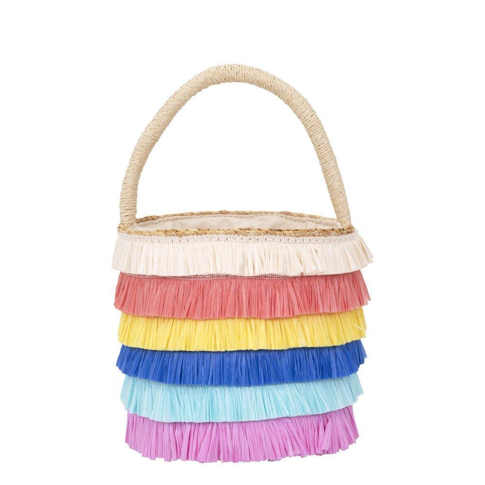 Raffia Straw Bag, Jollity & Co