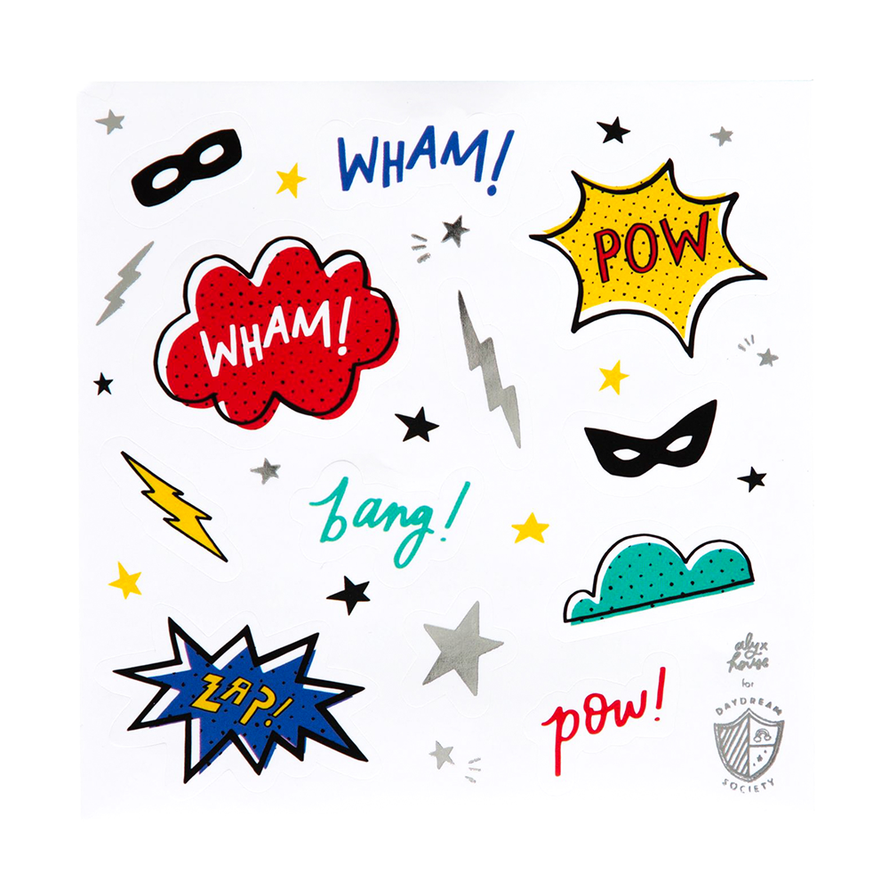 Superhero Sticker Set from Daydream Society