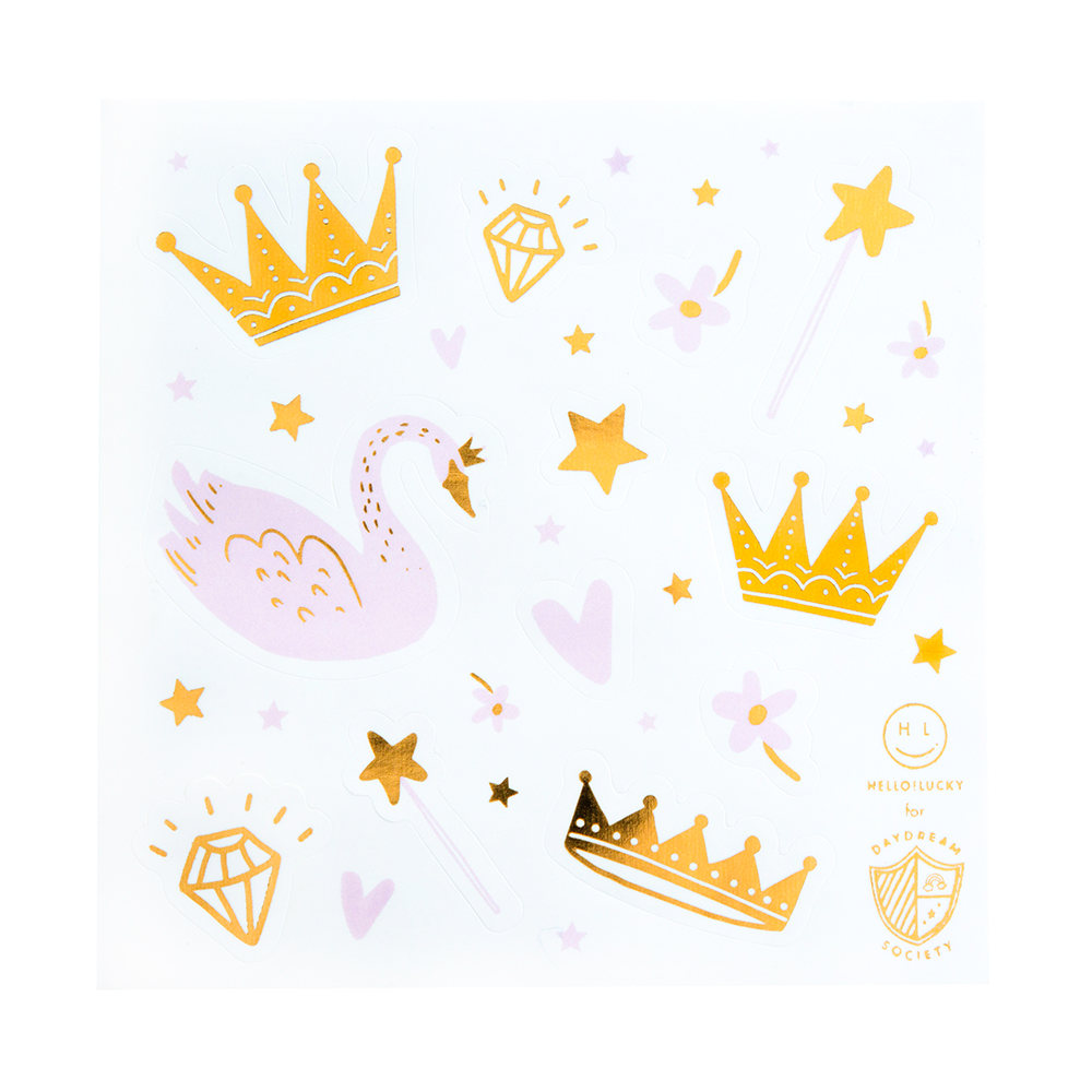 sweet princess sticker set by daydream society