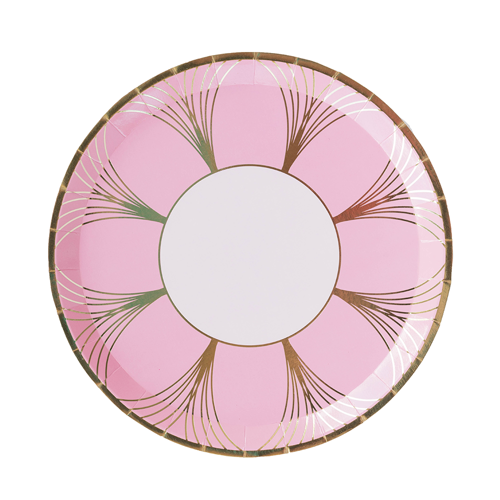 The Gatz Pink Dinner Plates from Jollity & Co
