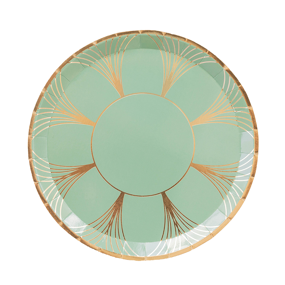 Sage Green The Gatz Dinner Plates