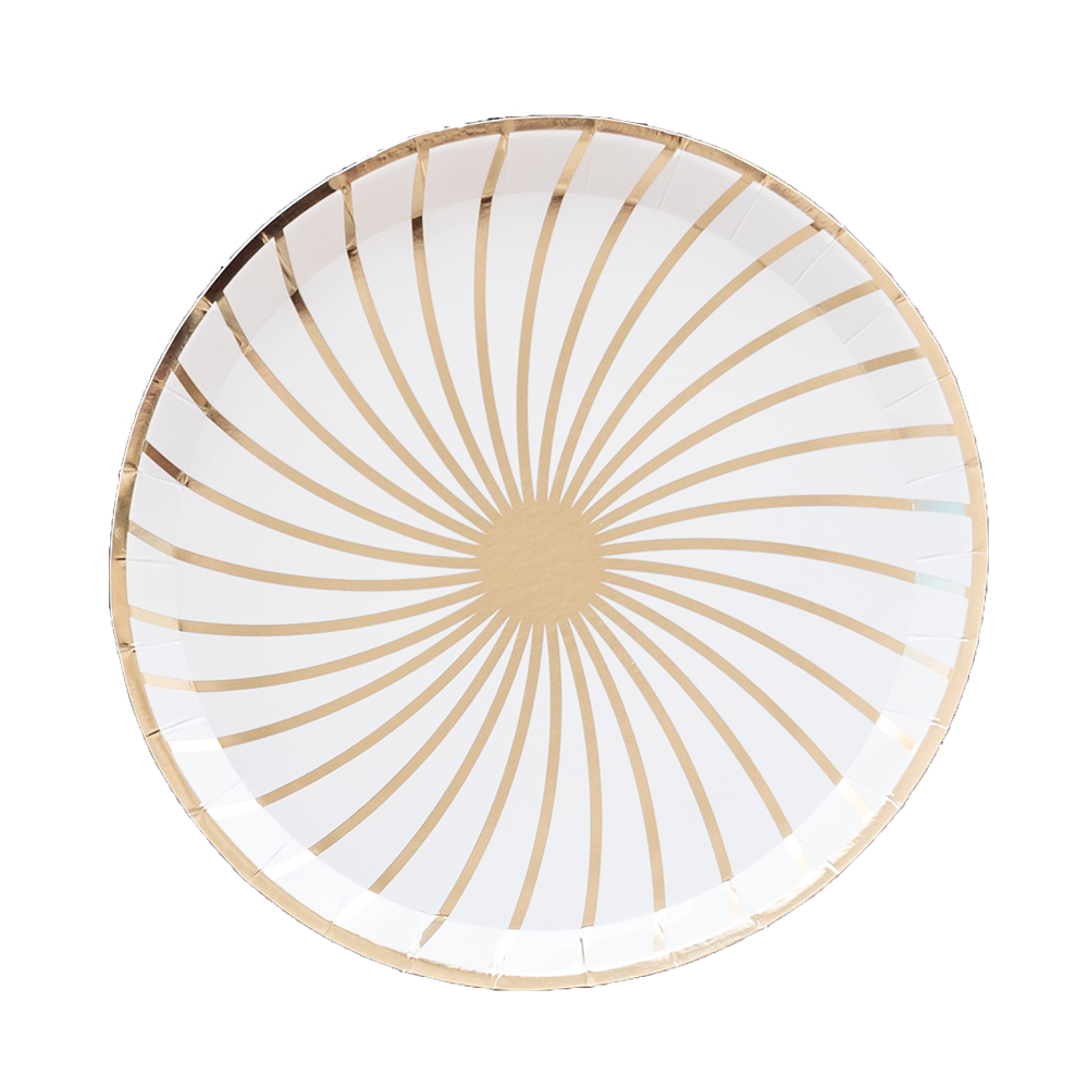 The Gatz White Dinner Plates from Jollity & Co