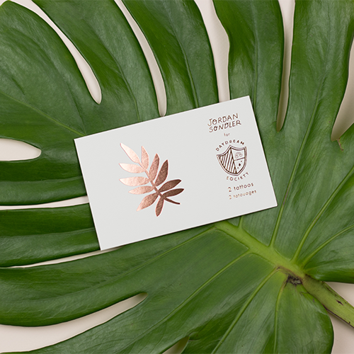 Tropicale Temporary Tattoos by Daydream Society